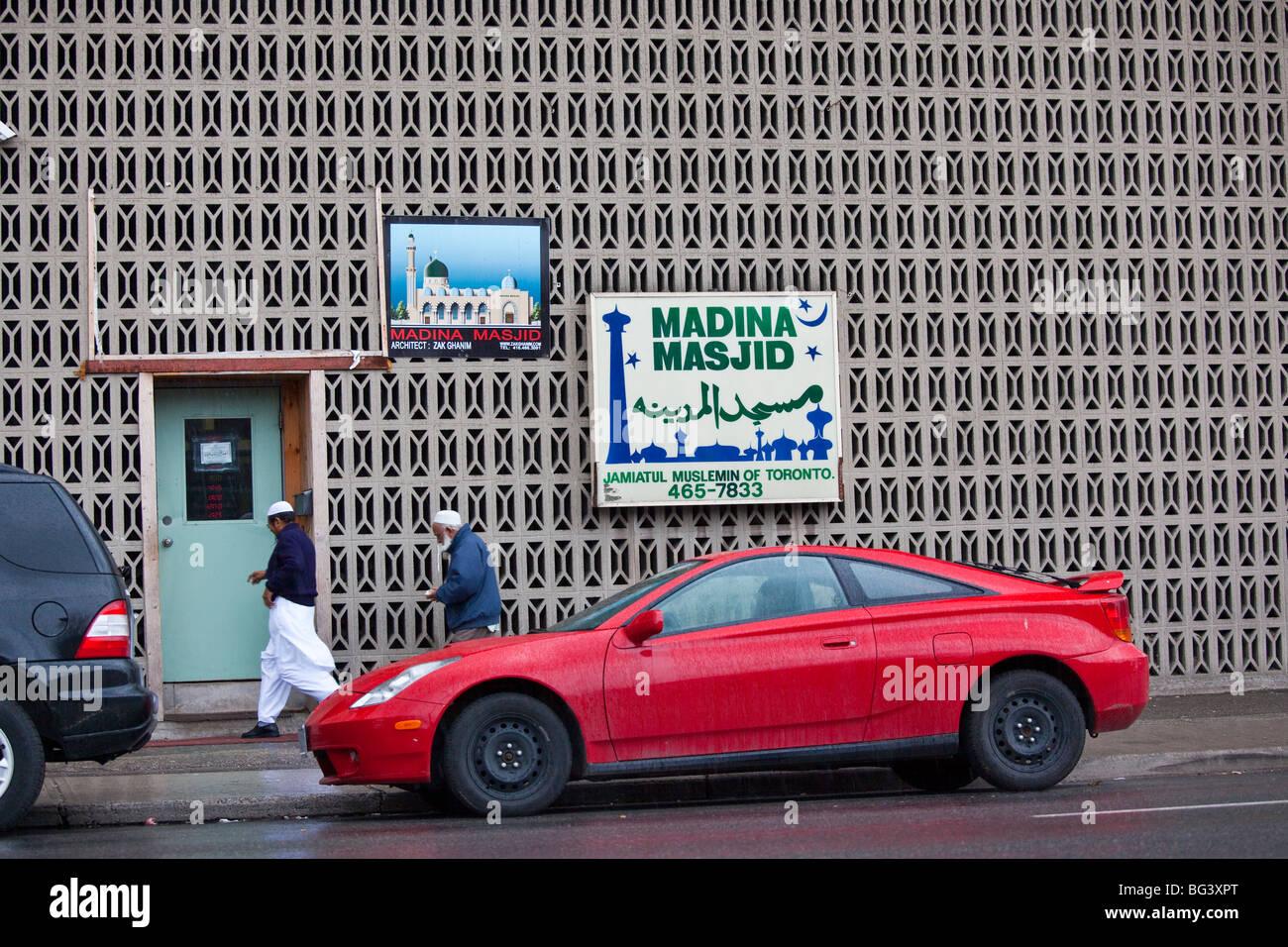 Madina Masjid in Toronto Canada - Stock Image