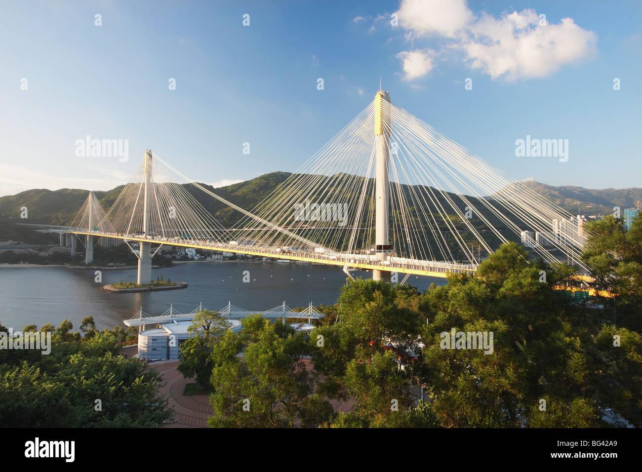 Kap Shui Mun Bridge, Tsing Yi, Hong Kong, China, Asia - Stock Image