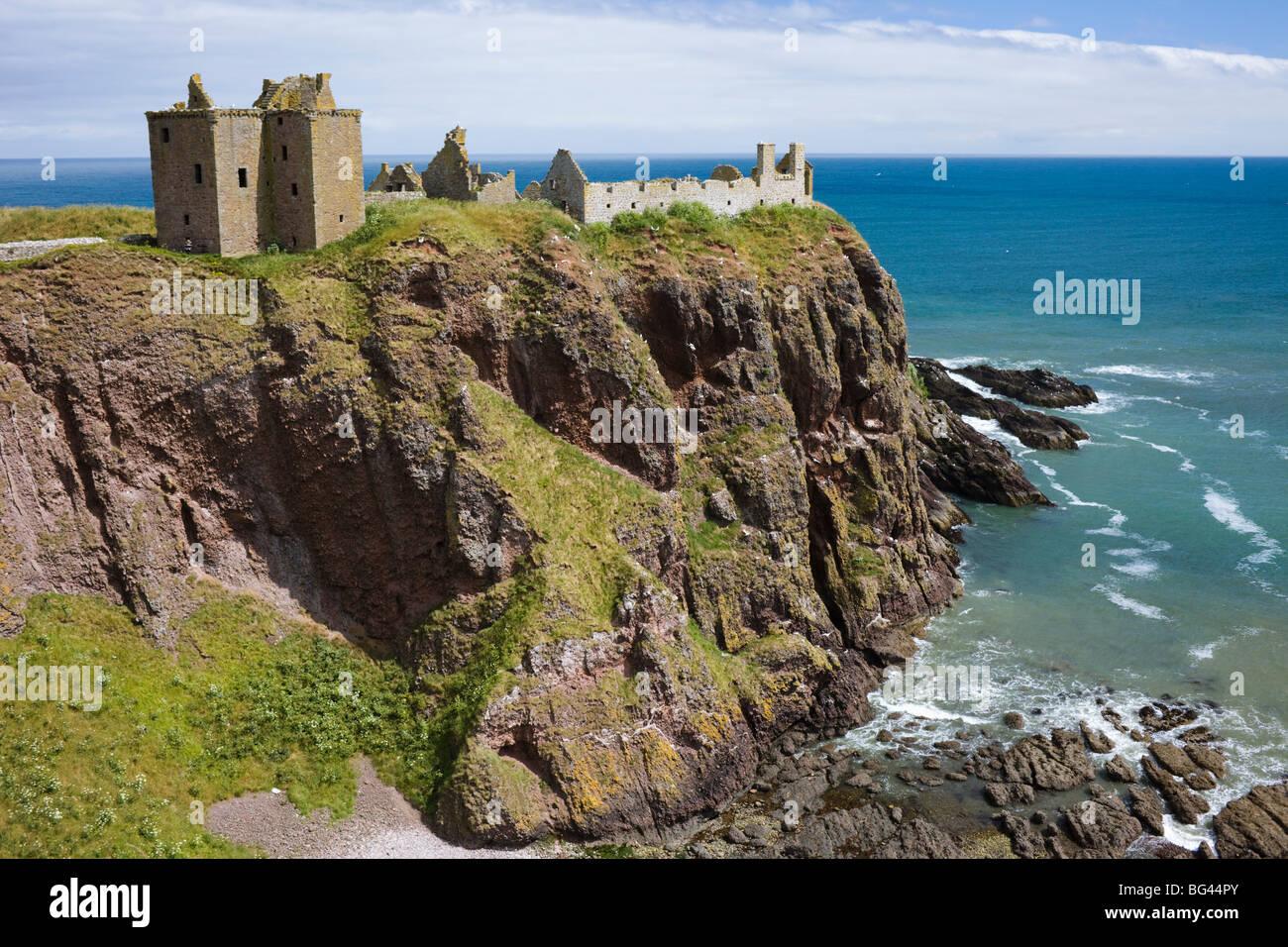 Scotland, Aberdeenshire, Dunnottar Castle - Stock Image