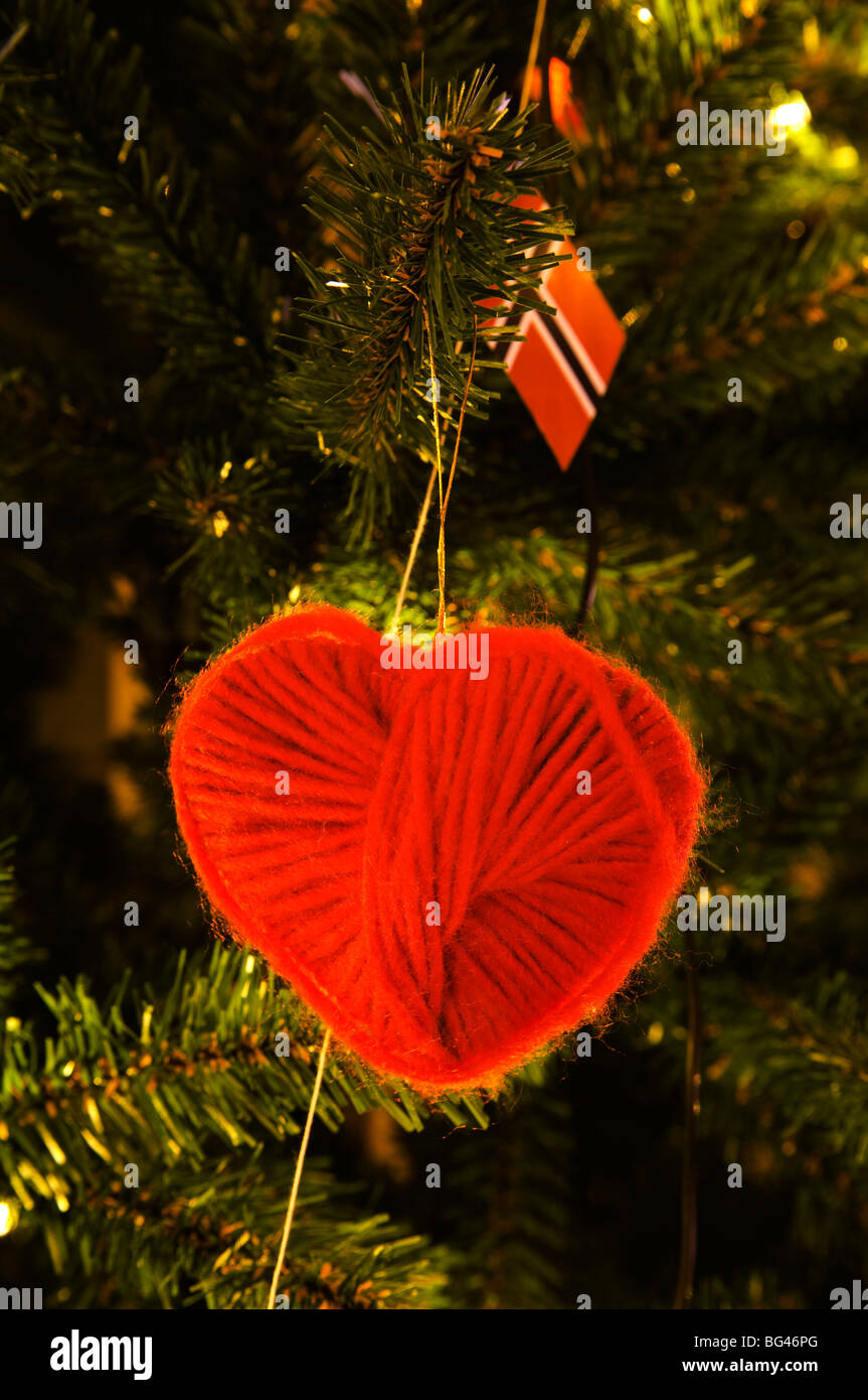 Traditional Norwegian Christmas decorations Stock Photo: 27138008 ...
