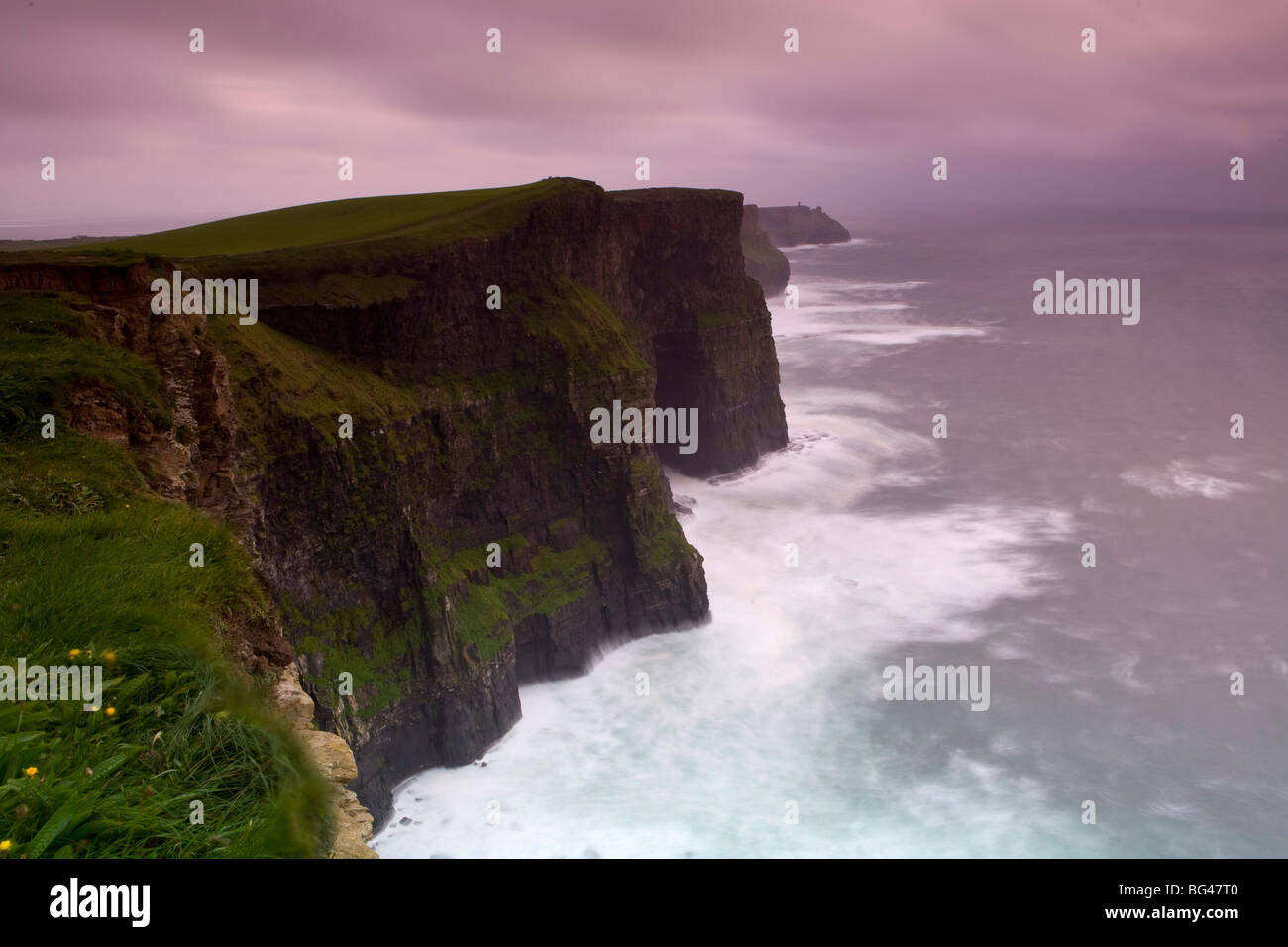 Cliffs of Moher, County Clare, Ireland - Stock Image