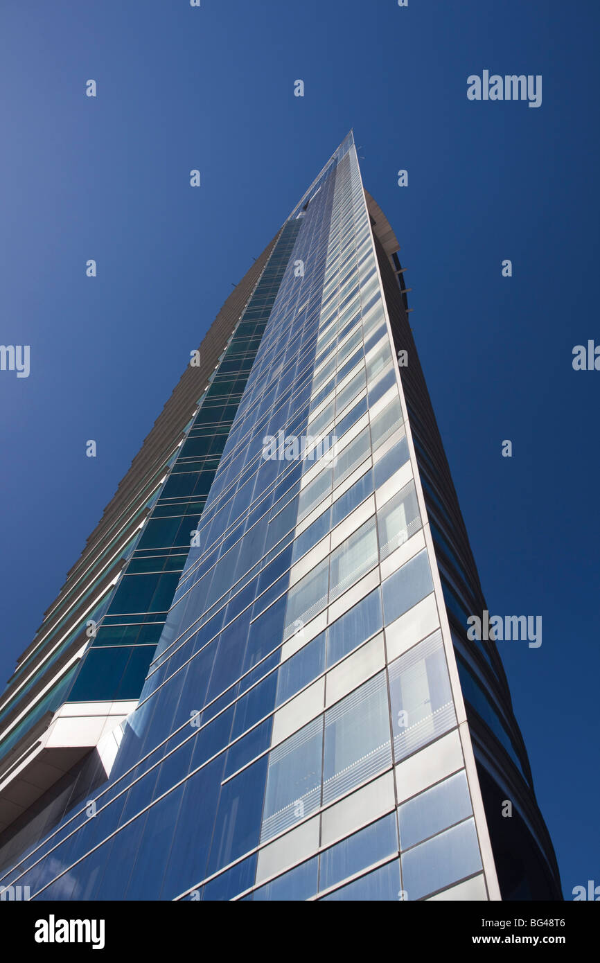 Uruguay, Montevideo, Torre Antel tower Stock Photo