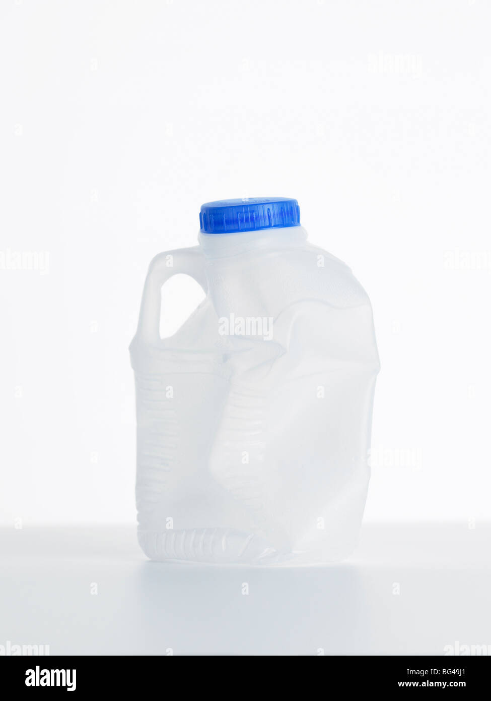 empty plastic bottle - Stock Image