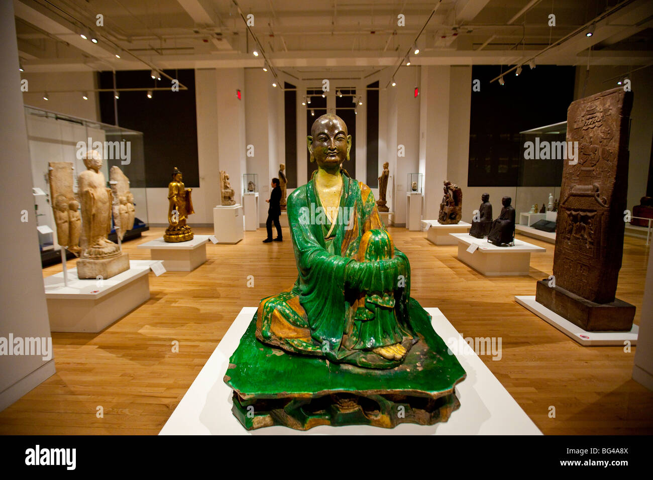 East Asian Art Collection at the Royal Ontario Museum or ROM in Toronto Canada - Stock Image