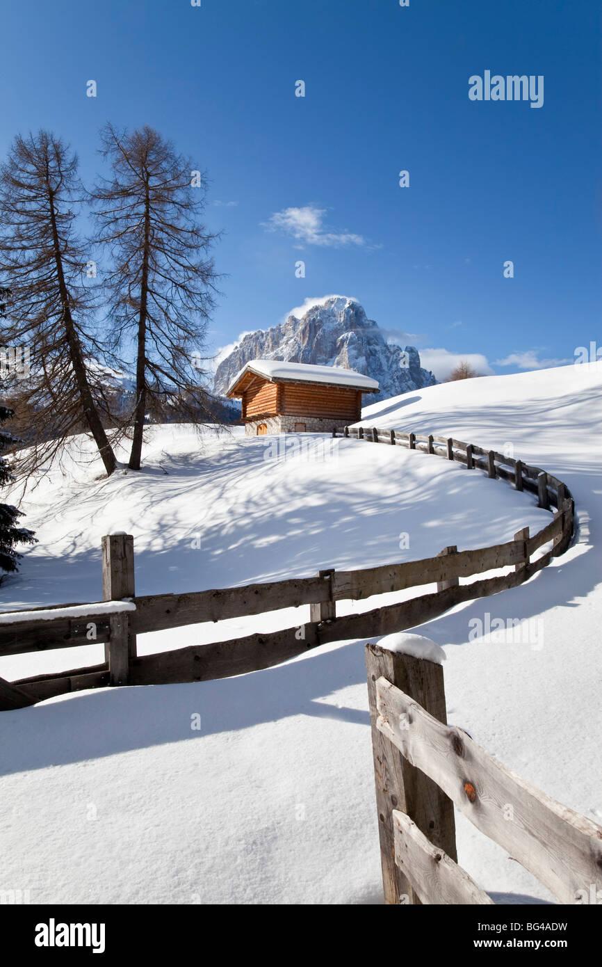 Sassolungo mountain (3181m), Val Gardena, Dolomites, South Tirol, Trentino Alto-Adige, Italy - Stock Image