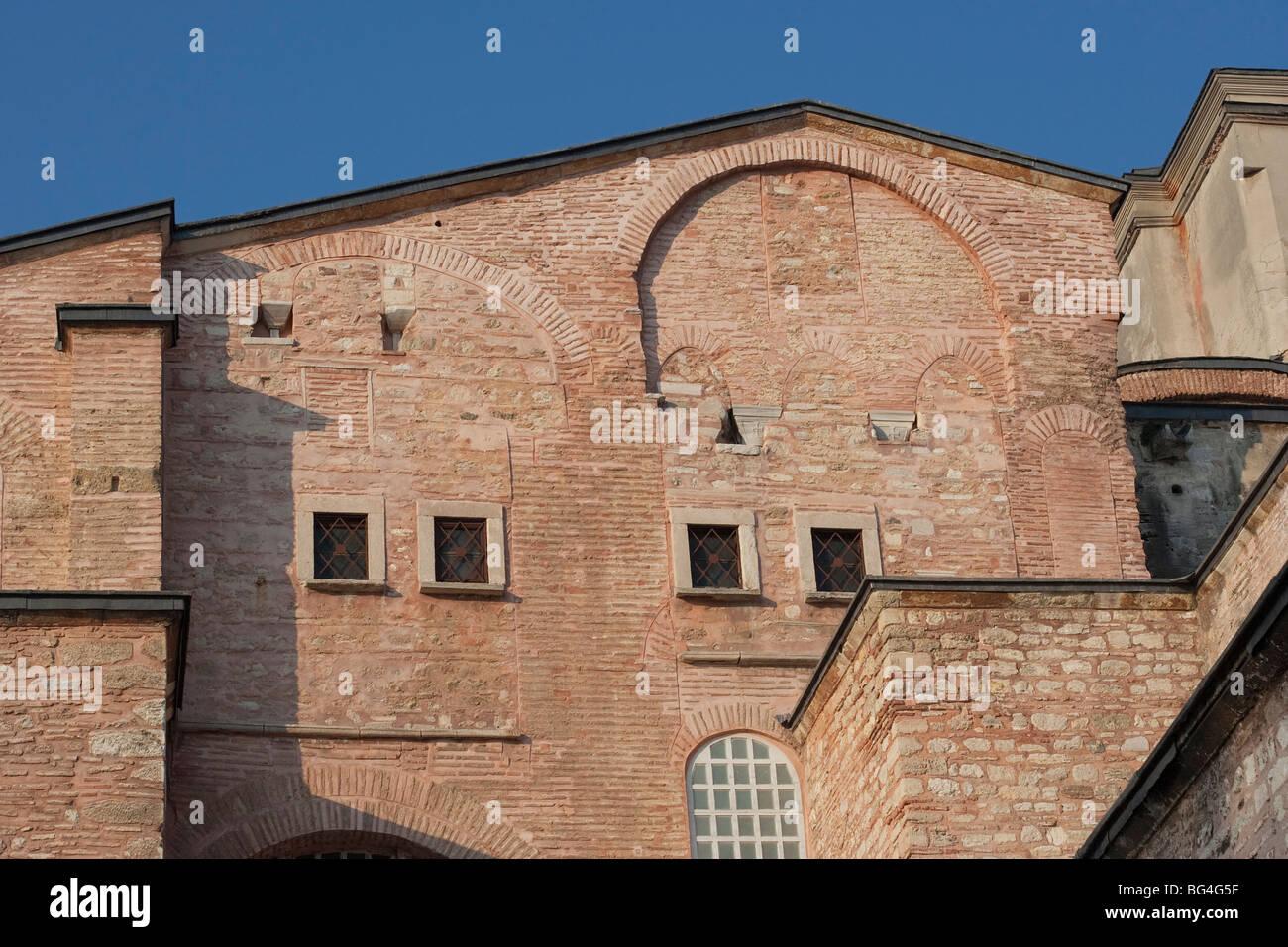 Hagia Sophia in Istanbul - Rear View - Sultanahmet District, Istanbul, Turkey, Europe Stock Photo