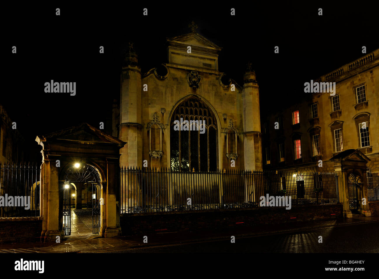 Peterhouse College, Trumpington Street, Cambridge, England, UK. - Stock Image