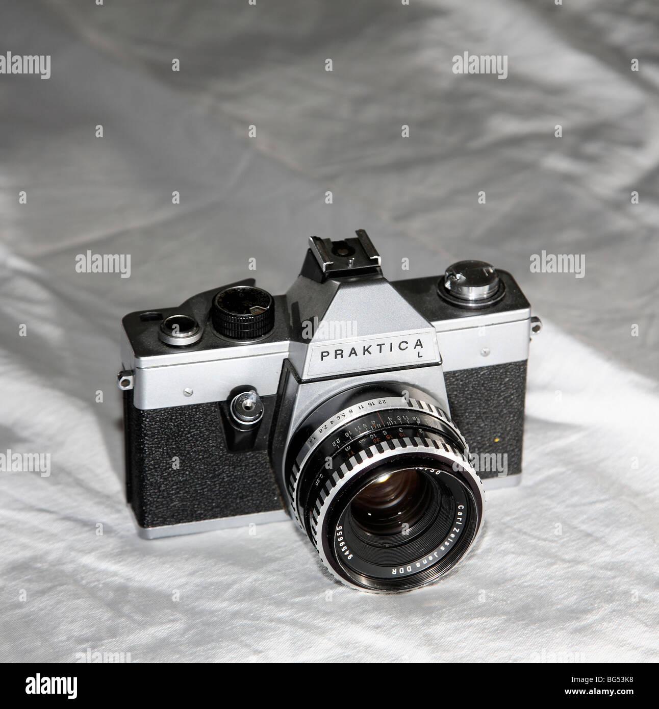 praktica camera - Stock Image