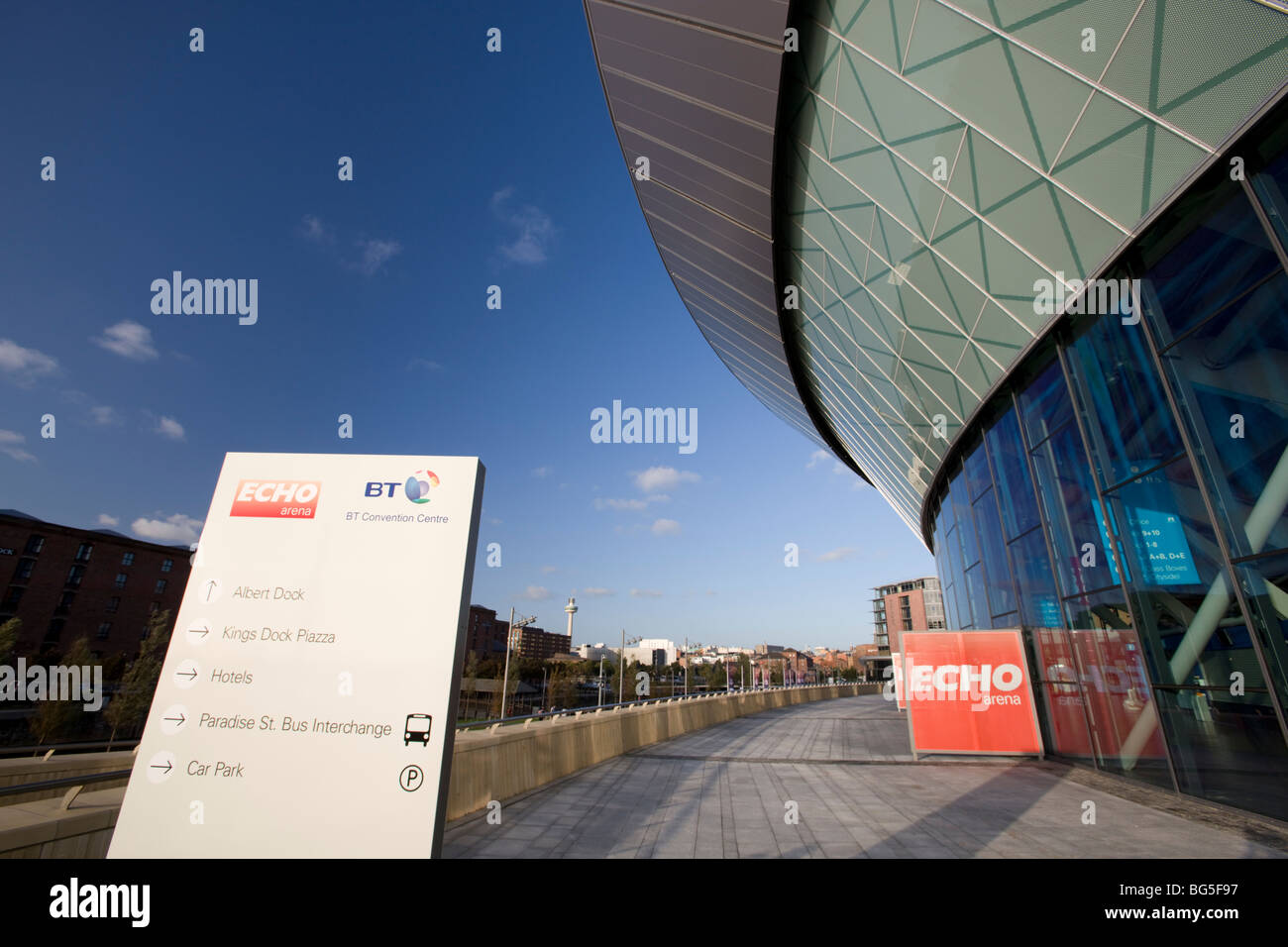 Echo Arena, Liverpool, UK - Stock Image