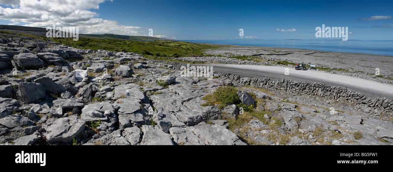 The Burren, West Coast of Ireland. - Stock Image