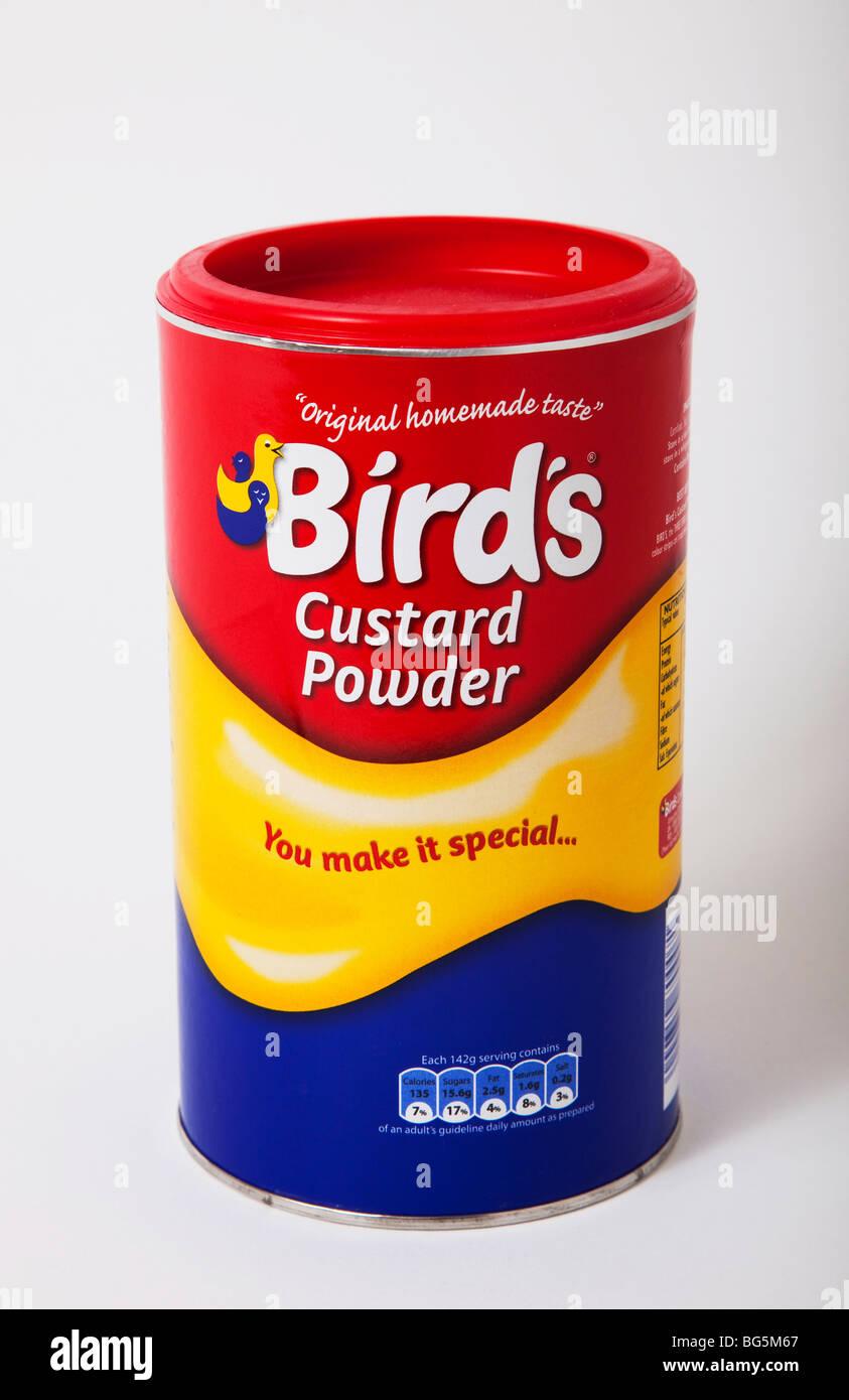 carton packet custard powder - Stock Image
