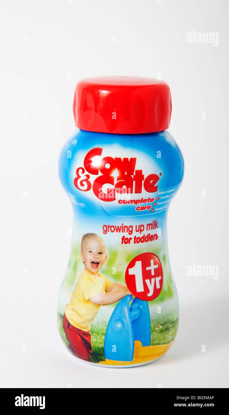 """cow & gate"" baby toddler milk formula Stock Photo"