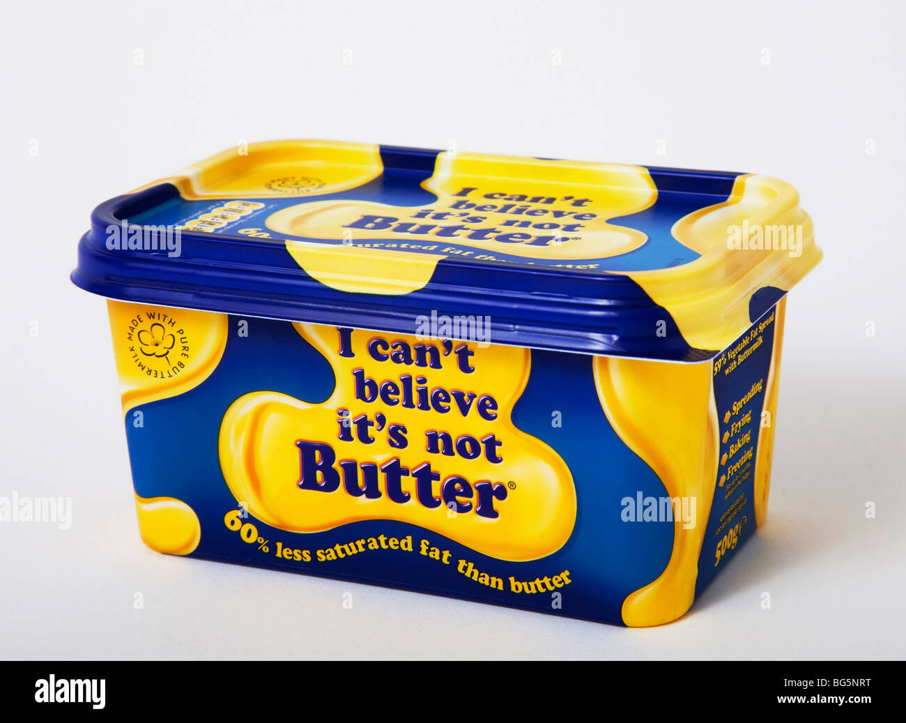 'I can't believe its not butter' butter margarine - Stock Image