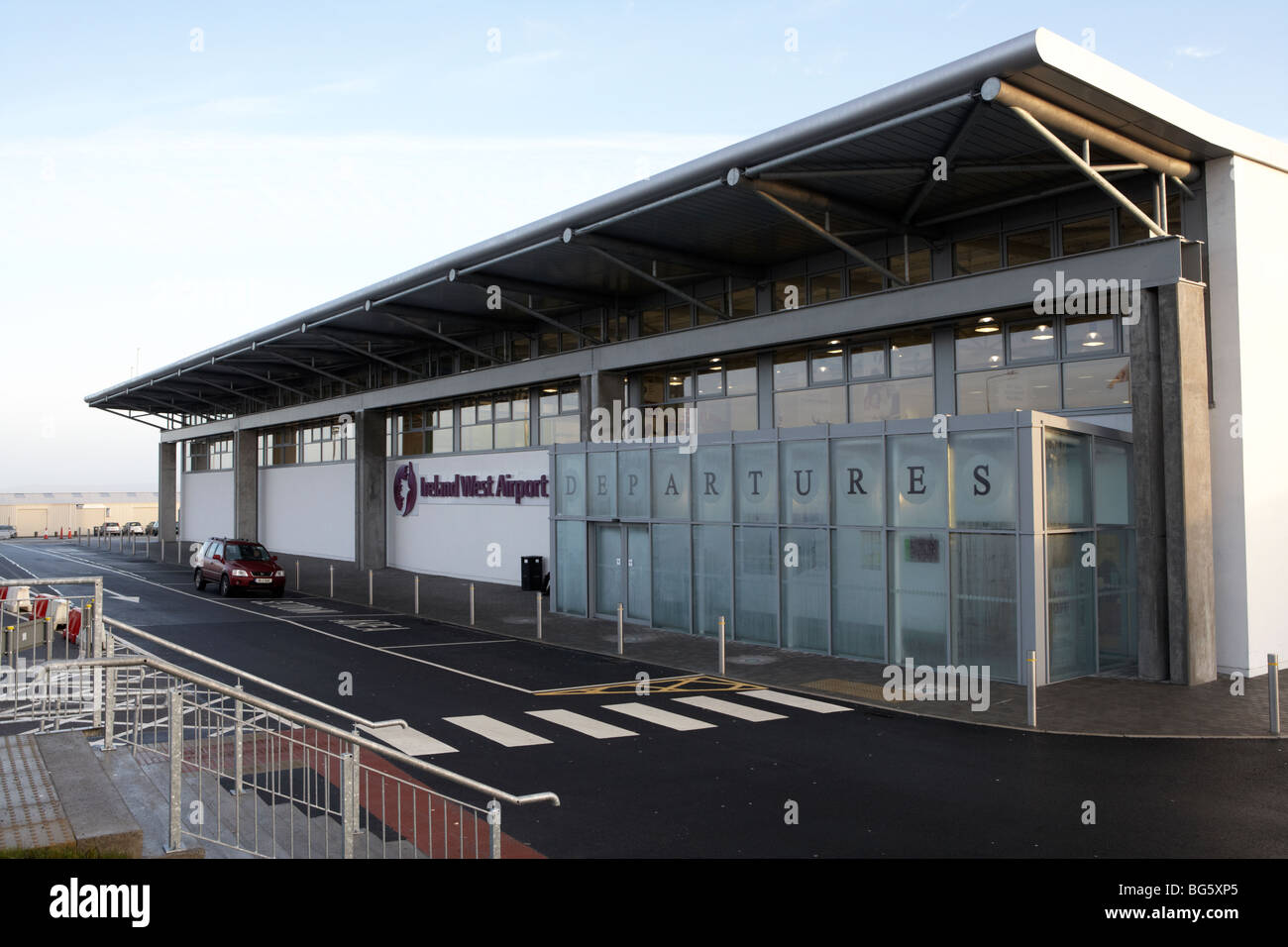 knock ireland west airport county mayo republic of ireland - Stock Image