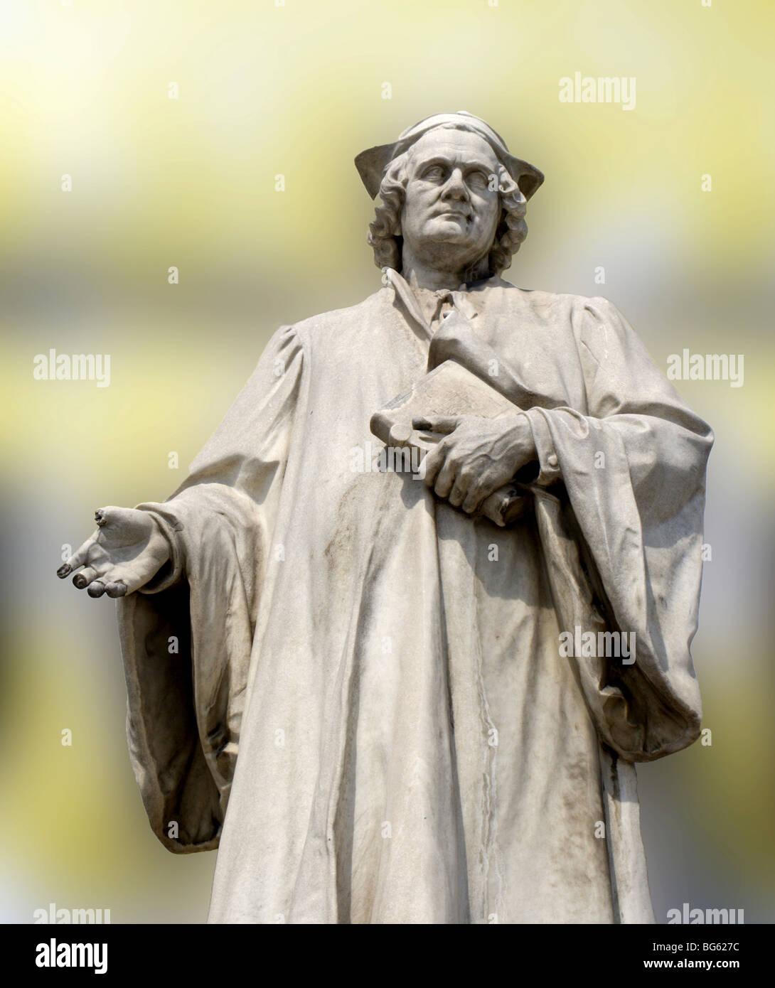 bramante - statue from vienna museum Stock Photo