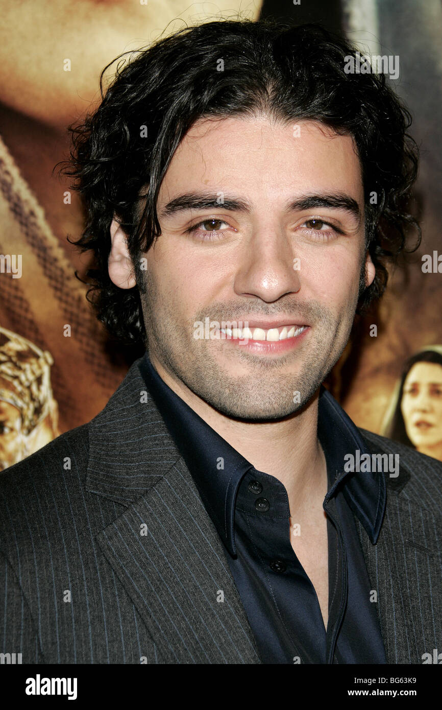OSCAR ISAAC THE NATIVITY STORY LOS ANGELES PREMIERE BEVERLY HILLS LOS ANGELES USA 28 November 2006 - Stock Image