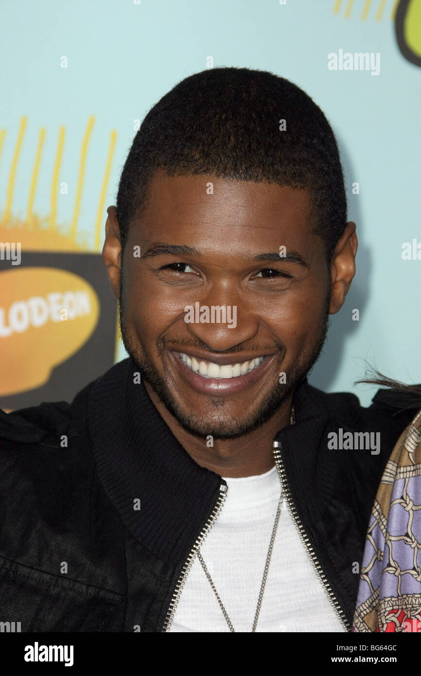 USHER NICKELODEON'S 21ST KIDS CHOICE AWARDS UCLA WESTWOOD LOS ANGELES USA 29 March 2008 - Stock Image