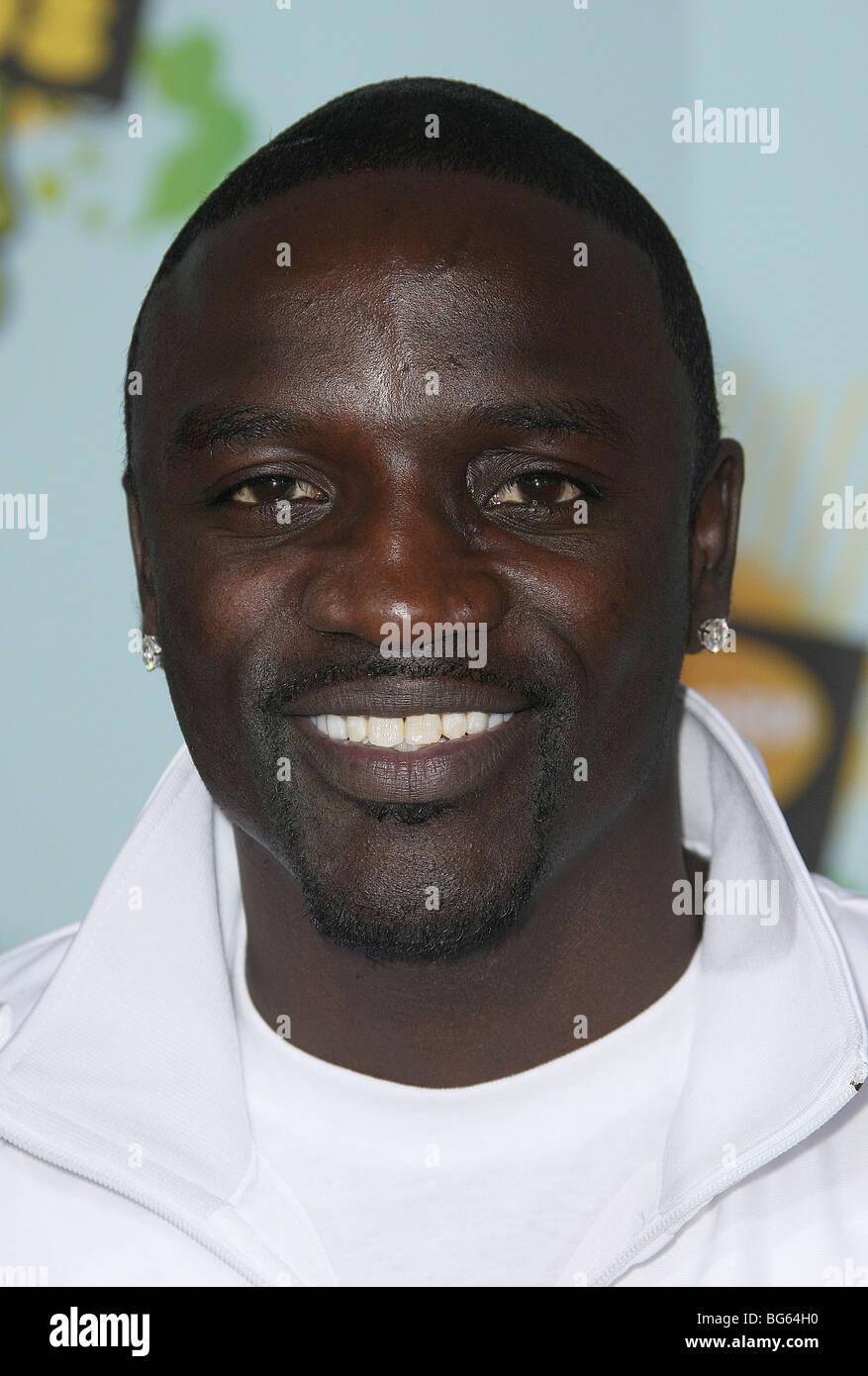 AKON NICKELODEON'S 21ST KIDS CHOICE AWARDS UCLA WESTWOOD LOS ANGELES USA 29 March 2008 - Stock Image