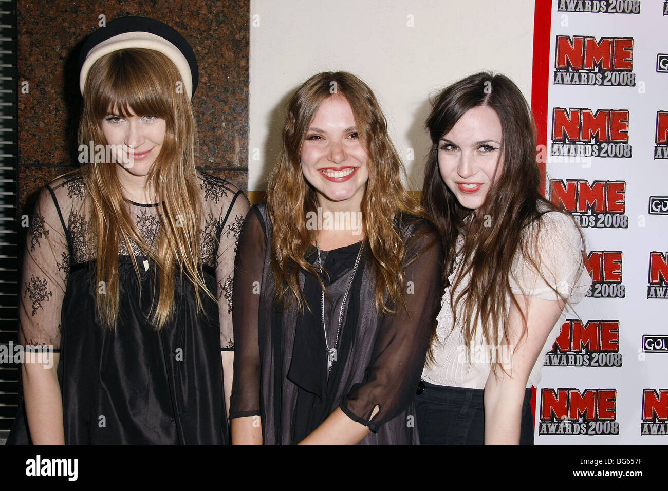 THE LIKE US NME AWARDS EL REY LOS ANGELES CALIFORNIA USA 23 April 2008 Stock Photo