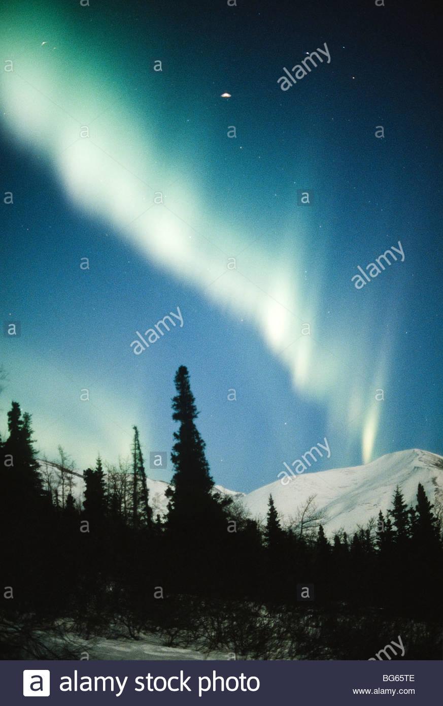 Alaska. Northern Lights.