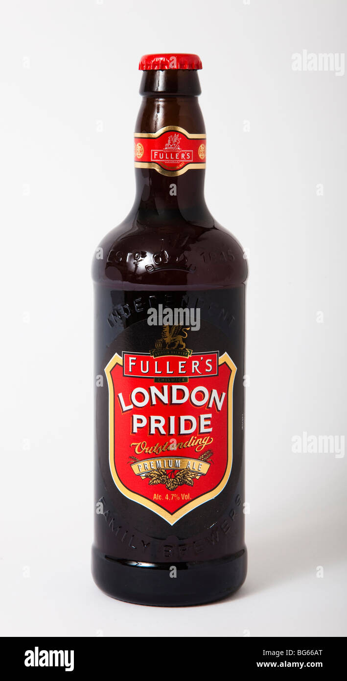 bottle fullers london pride ale bitter - Stock Image