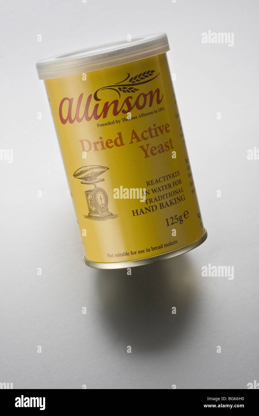Allinson dried yeast cut out - Stock Image