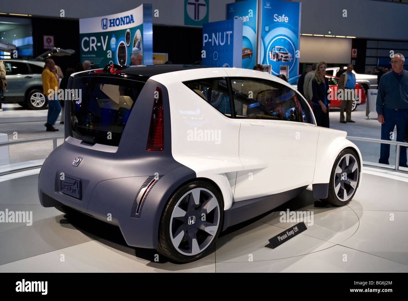The Honda PNUT Concept World Debut At The LA Auto Show In - Honda center car show