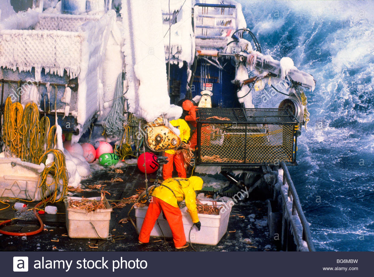 Alaska crab fishing in the bering sea during ice for Pure fishing jobs