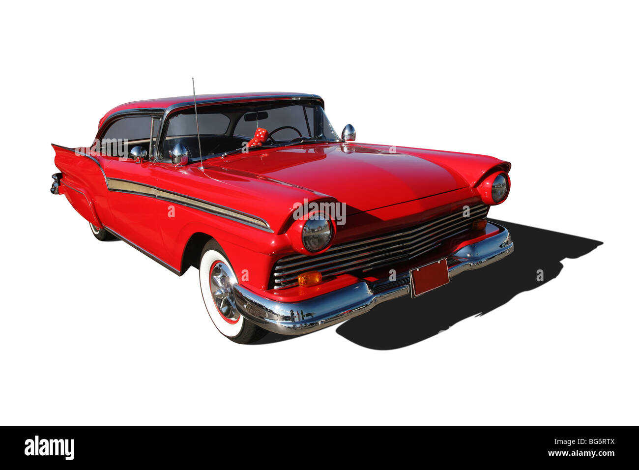 Auto- 1957 Ford Fairlane. - Stock Image
