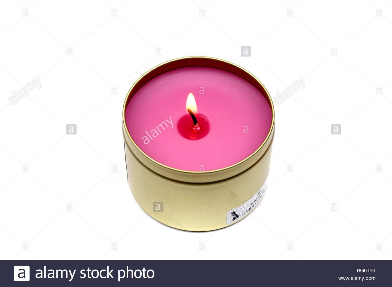 Scented Candle High Resolution Stock Photography And Images Alamy