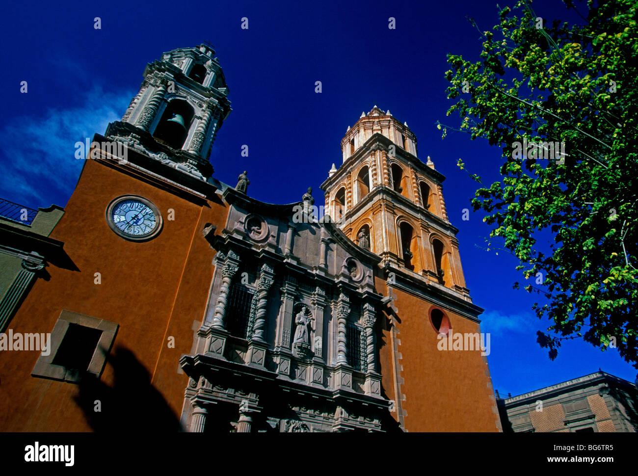 San Francisco Church, Roman Catholic church, Roman Catholic, Roman Catholicism, San Luis Potosi, San Luis Potosi - Stock Image