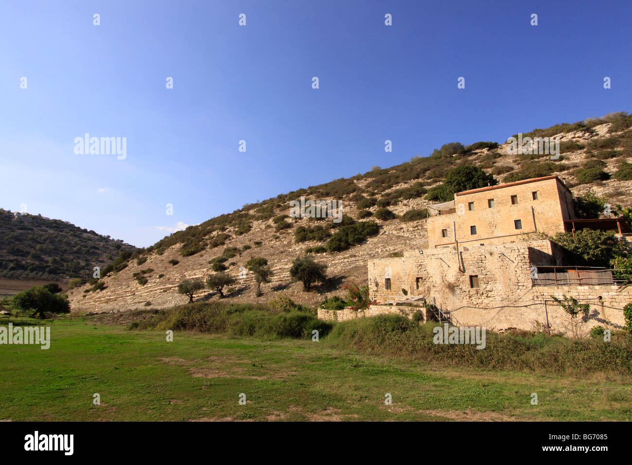 Israel, Lower Galilee, the old Carmelite monks flour mill in Wadi Zippori Stock Photo