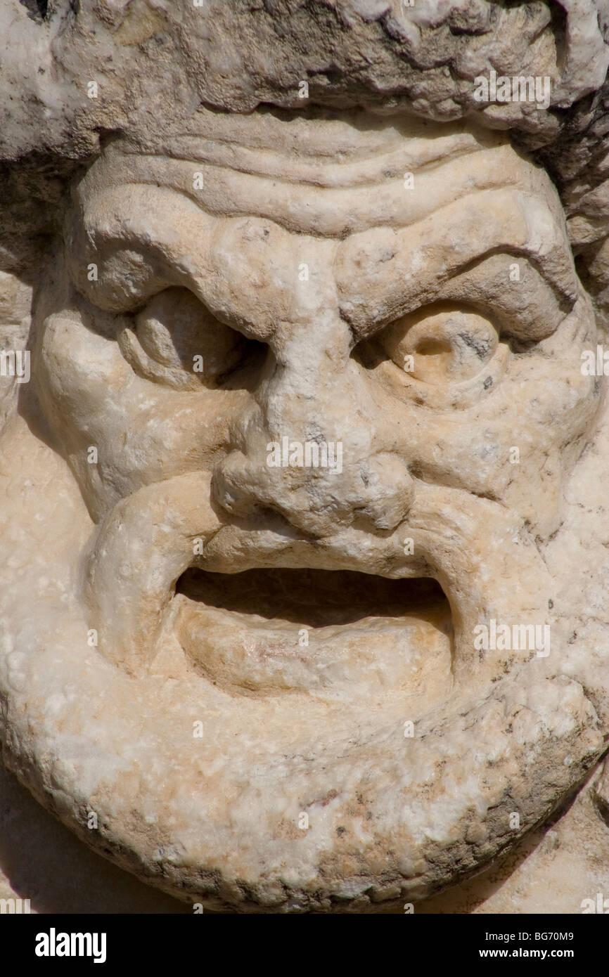 marble sculpture Stock Photo