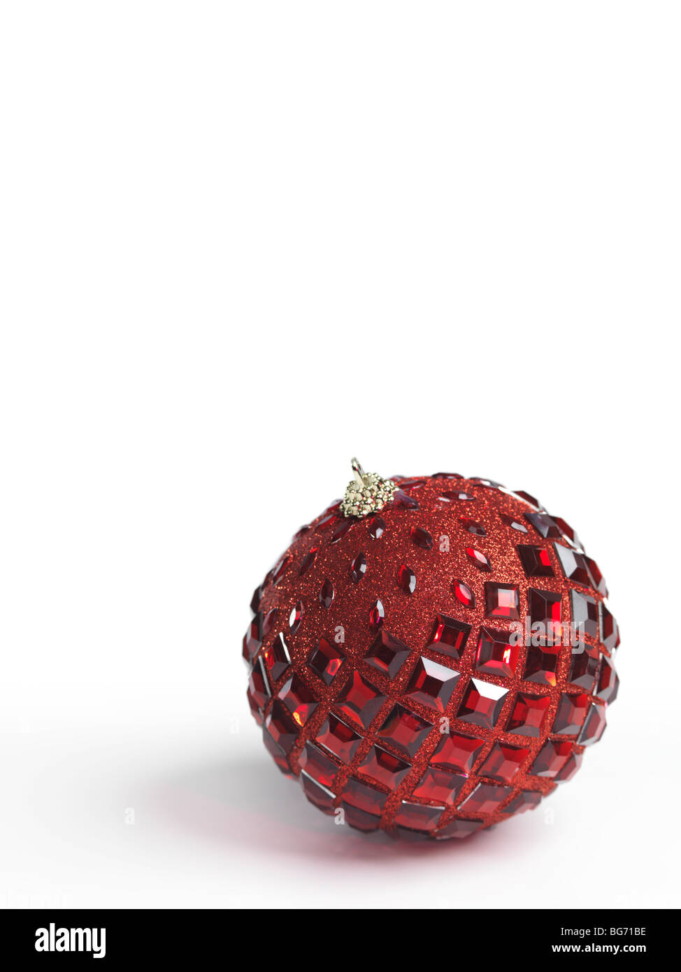 Christmas ornament isolated on white background Stock Photo