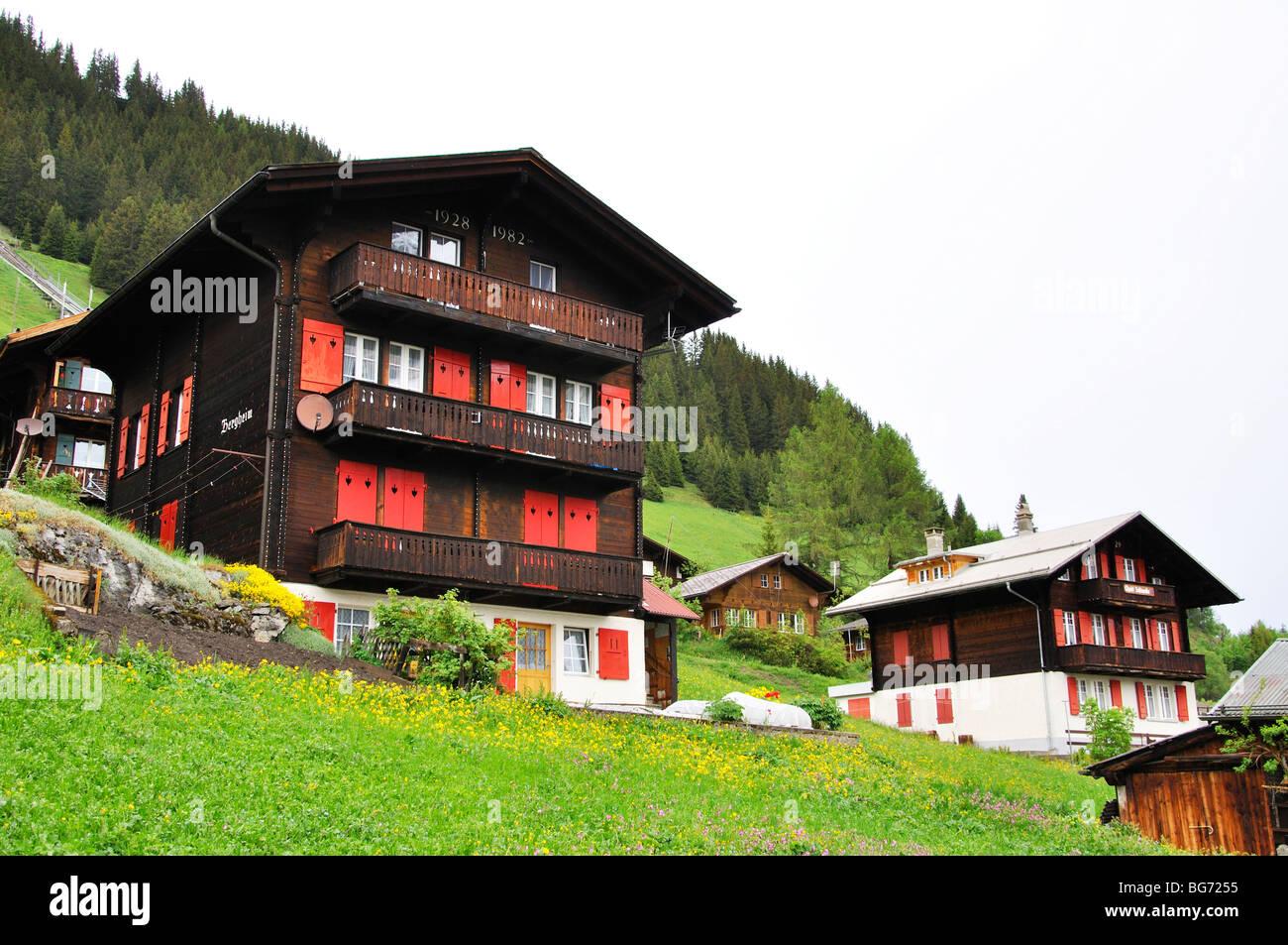 Murren, Switzerland Stock Photo