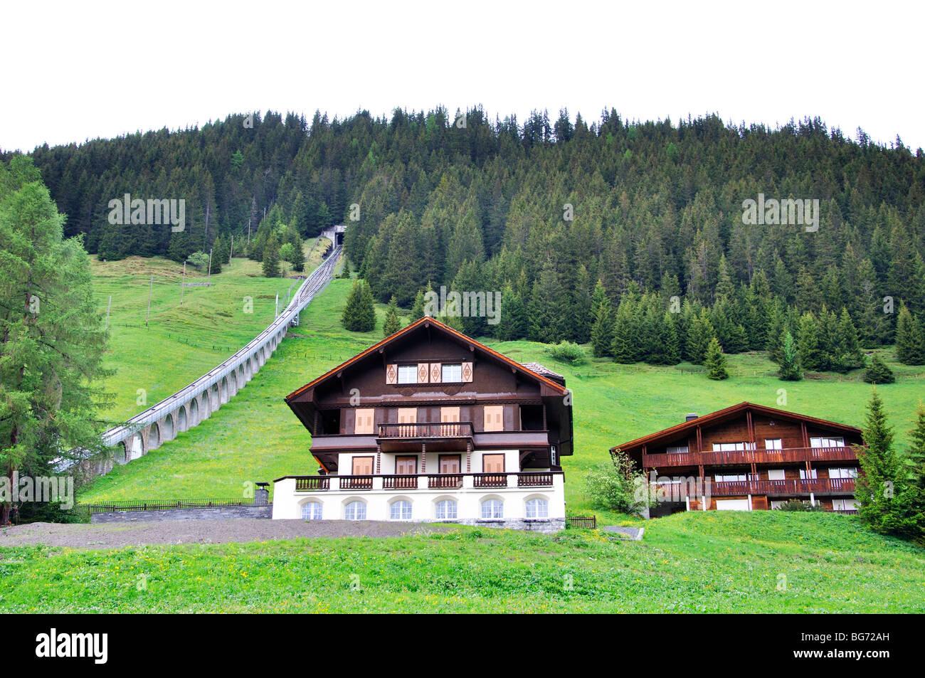 Murren, Switzerland - Stock Image