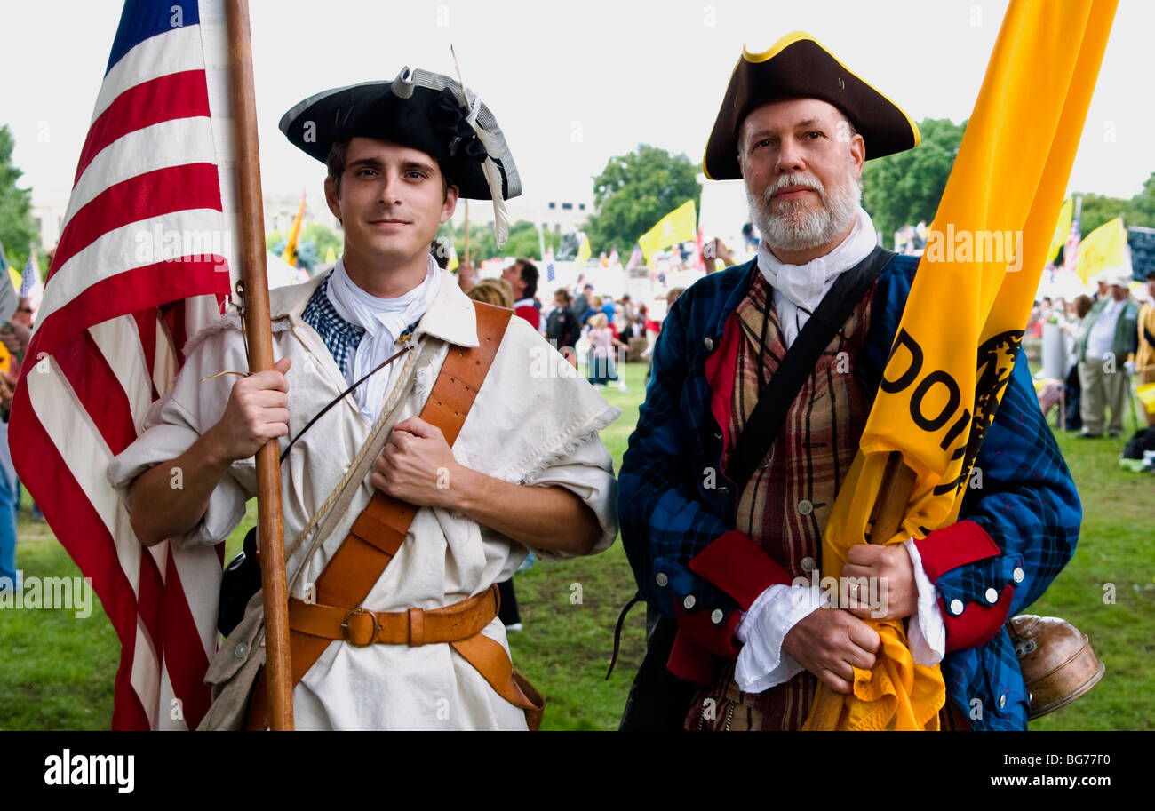 Washington DC, Tea Party Patriots - Stock Image