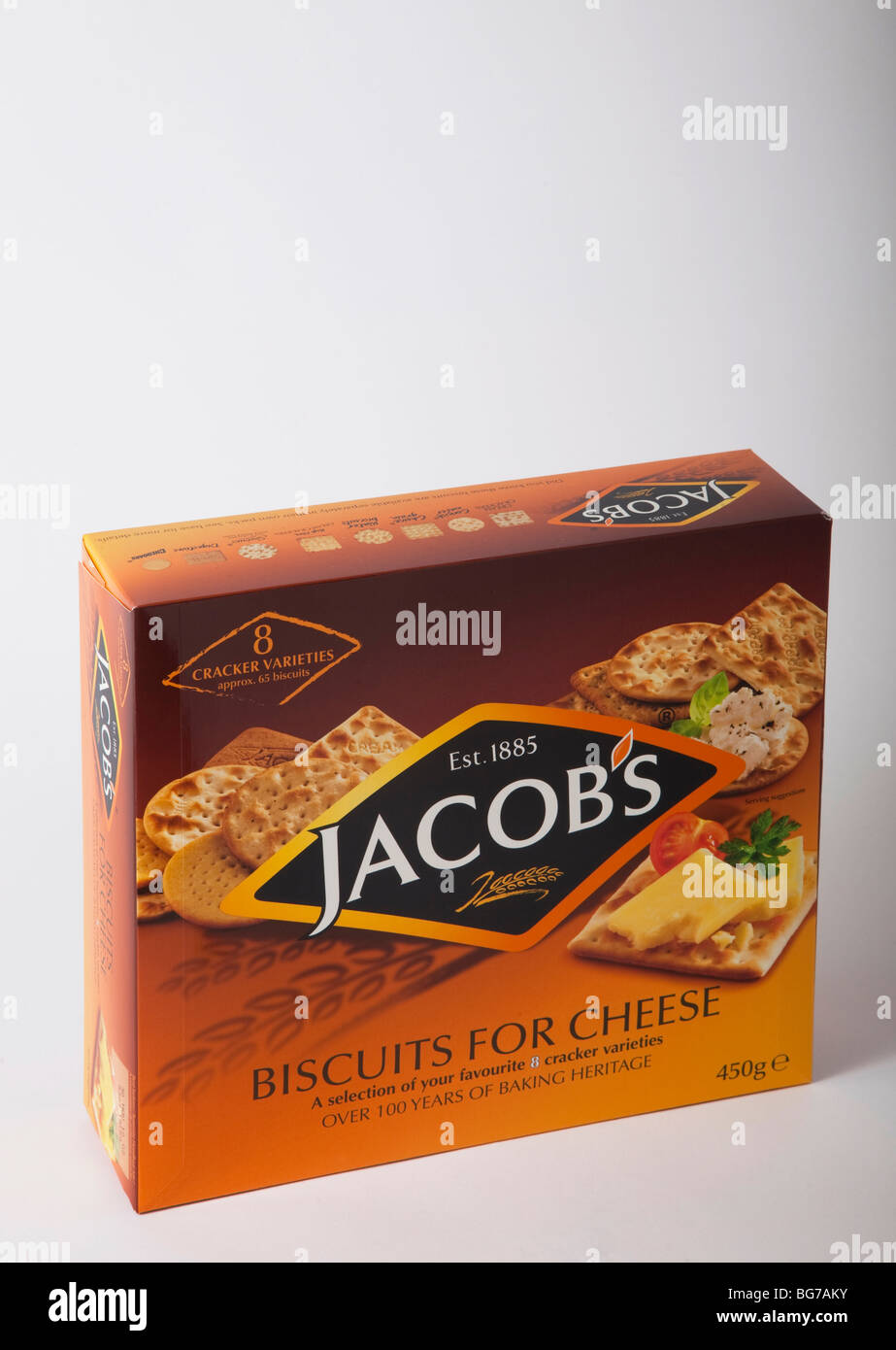 box jacobs biscuit crackers - Stock Image