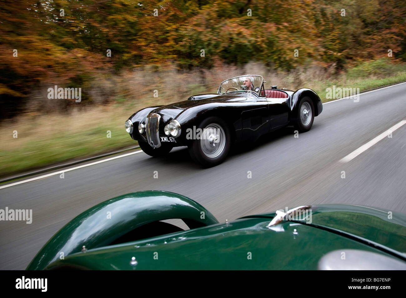 Frazer -Nash Mille Miglia 1952 - Stock Image
