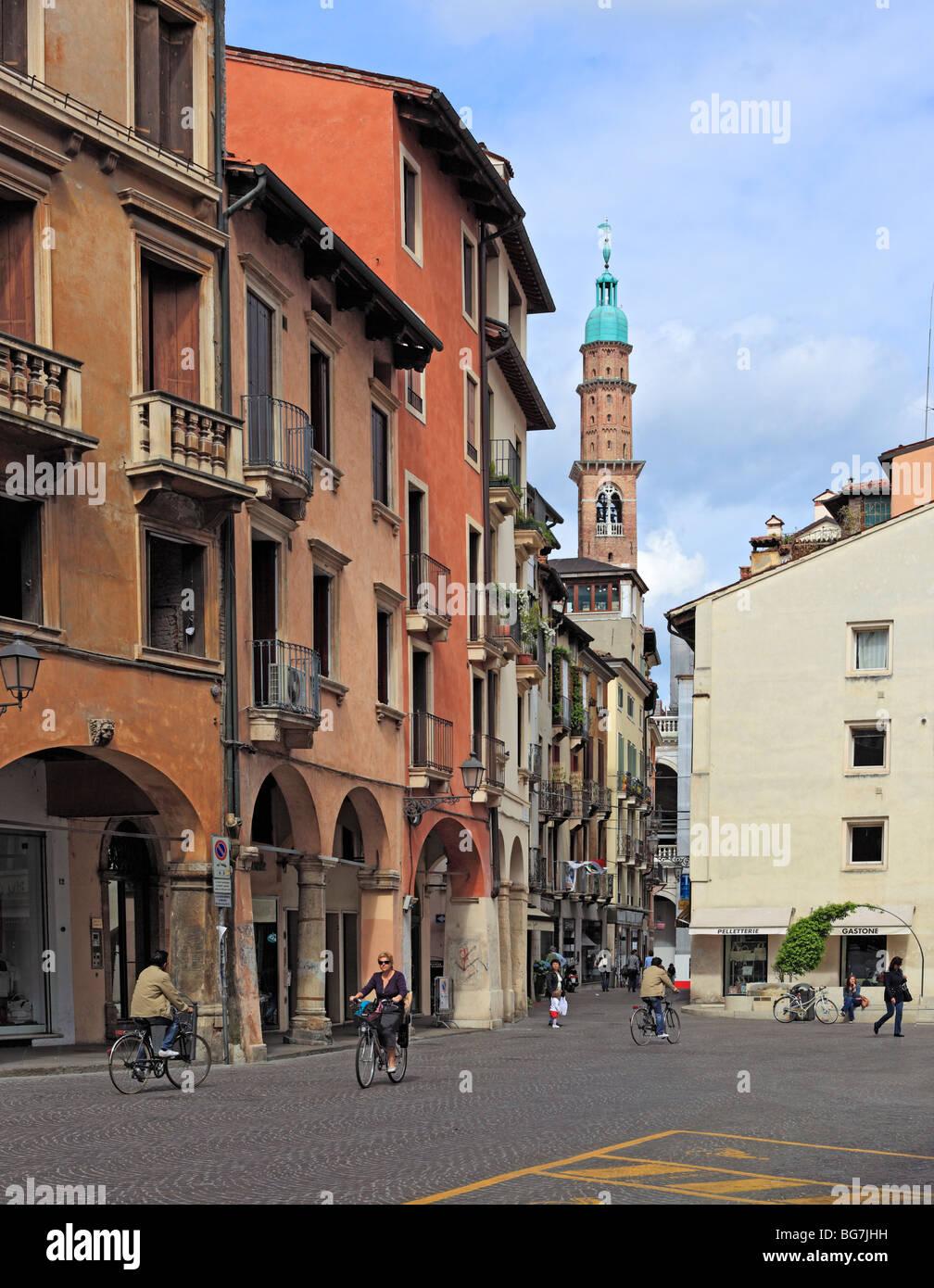 Vicenza, Veneto, Italy - Stock Image