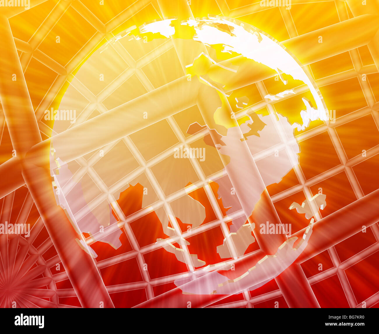 Abstract globe grid wireframe asia world map illustration stock abstract globe grid wireframe asia world map illustration gumiabroncs Images
