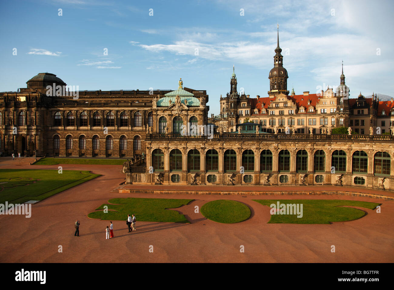 Germany Saxony Dresden Zwinger Palace Mathematisch-Physikalischer Salon Mathematical-Physical Sciences Salon Hausmann - Stock Image