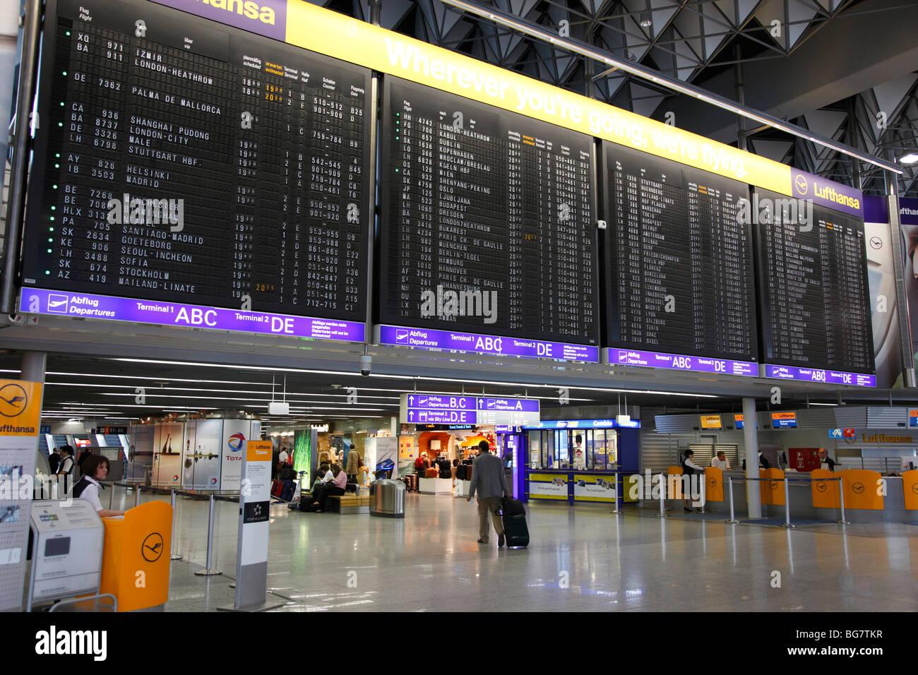 Frankfurt Main Airport Address