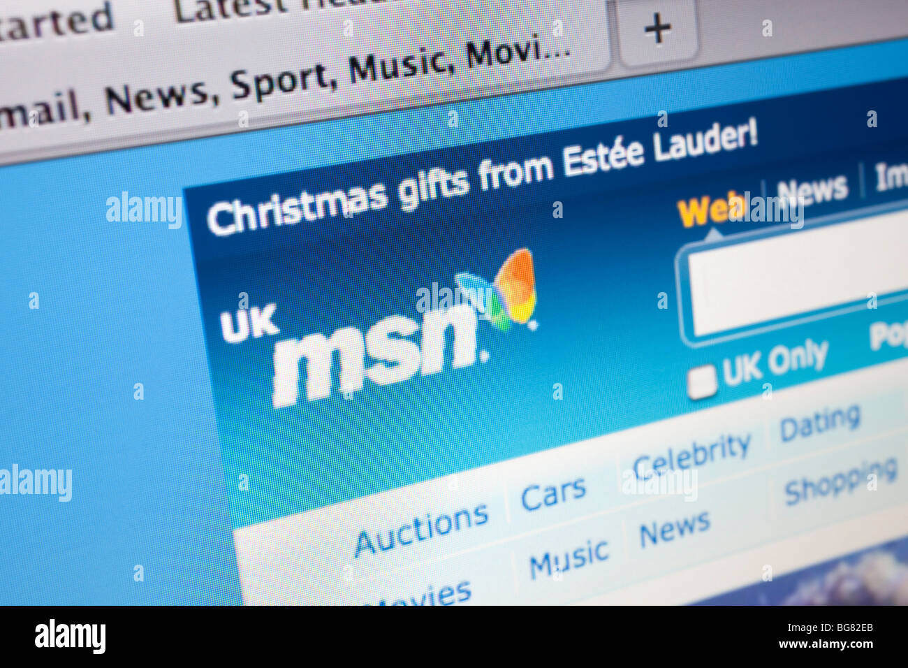 Msn News Website Stock Photos & Msn News Website Stock
