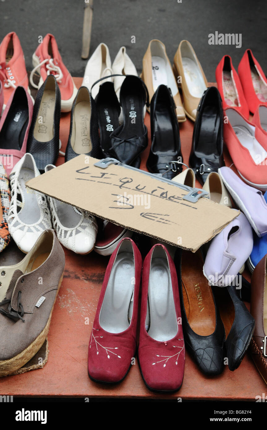 France Paris Outdoor Second Hand Clothes And Shoes