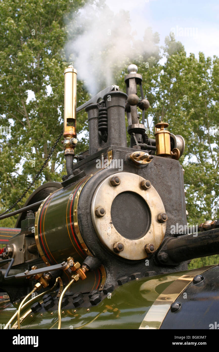 Traction Engine - Stock Image