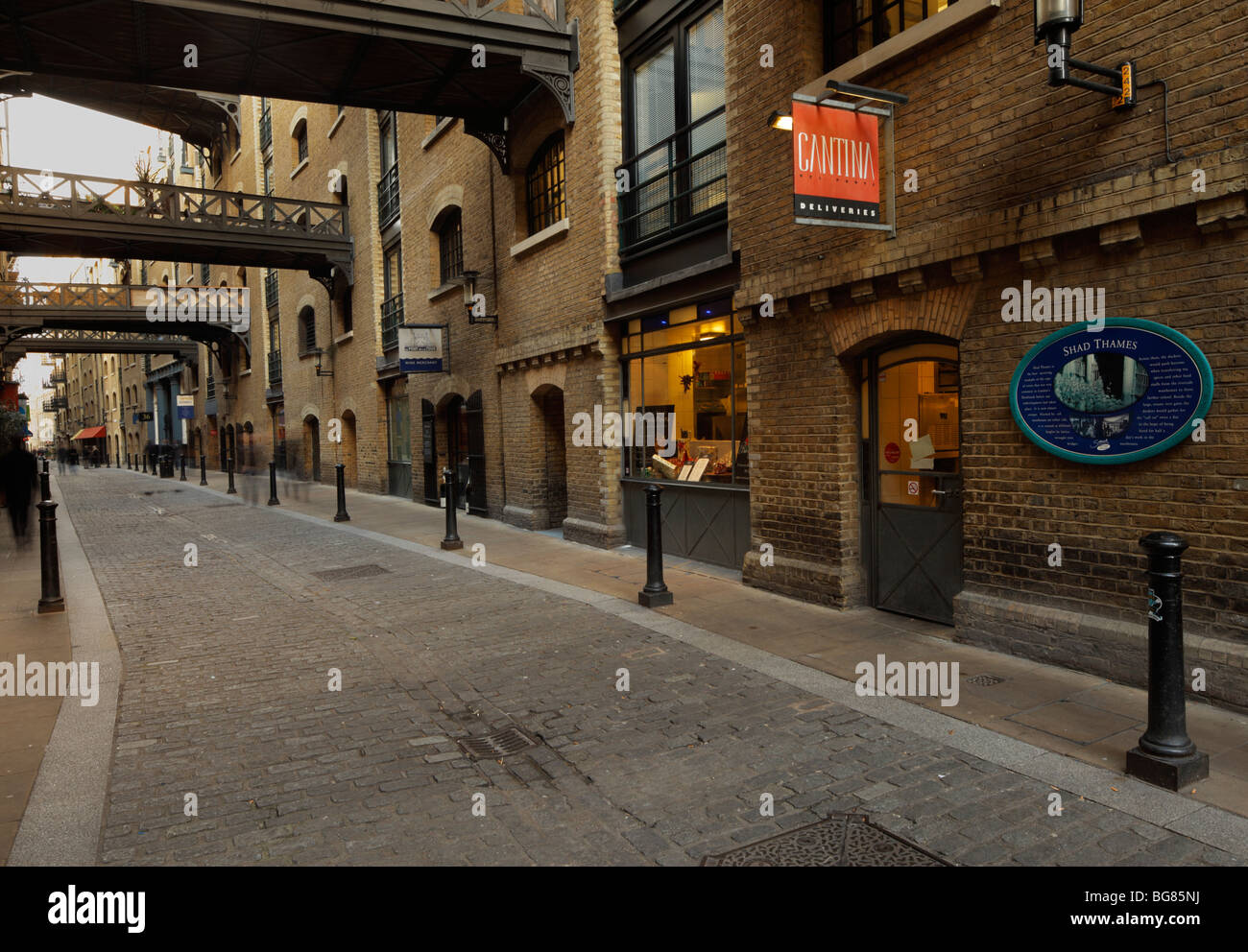 Shad Thames, London. - Stock Image