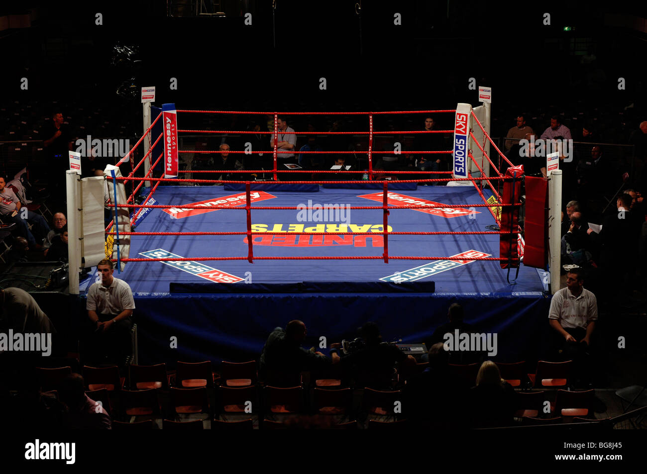 Boxing Ring Stock Photo 27234709 Alamy