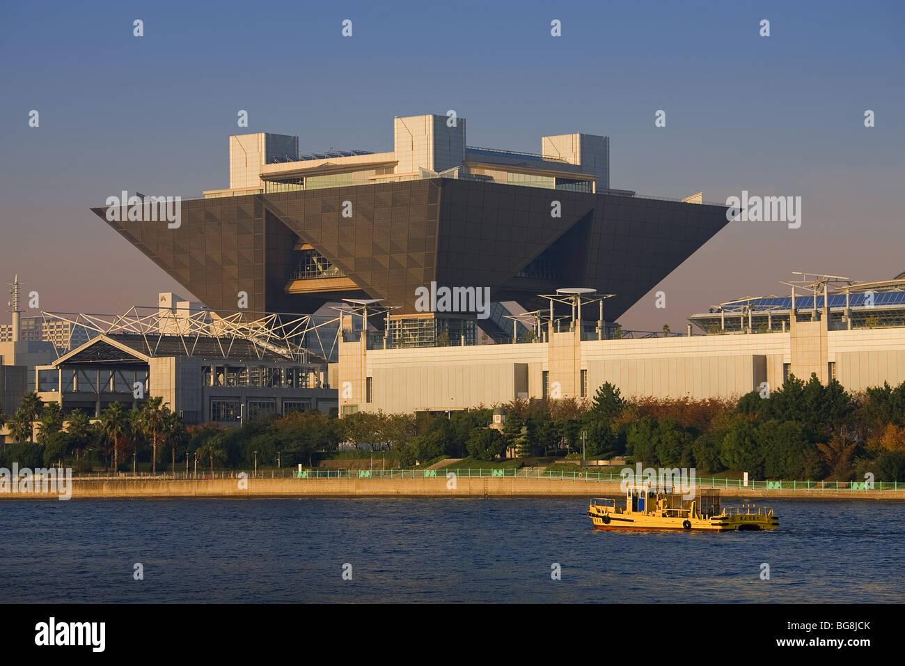 International Exhibition Center in Tokyo (TOKYO BIG SIGHT). - Stock Image