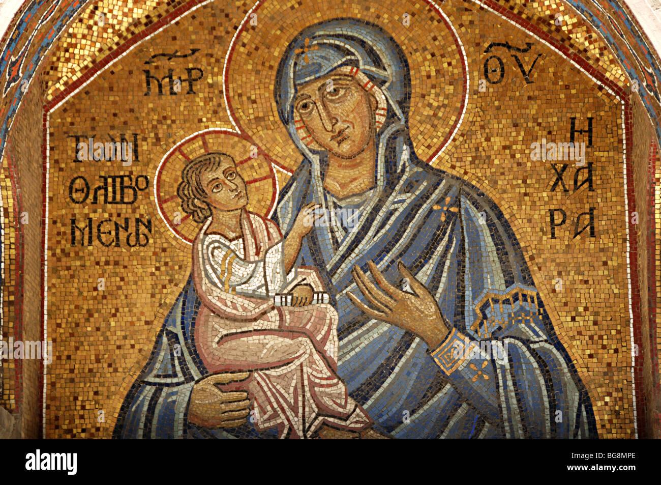 Virgin Mary Byzantine Art Stock Photos Amp Virgin Mary